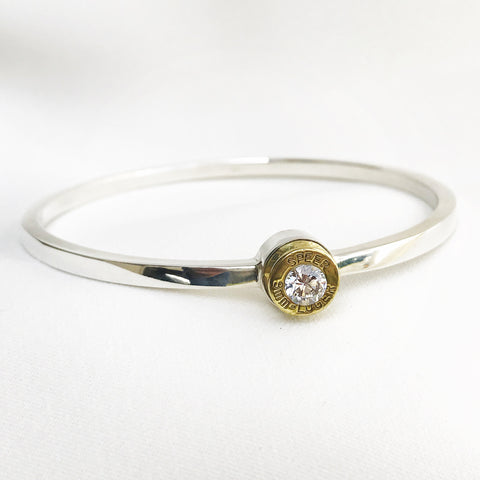 Lady Hunter Bangle (thin band)