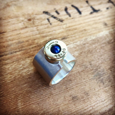 lady hunter gap ring lapis lazuli