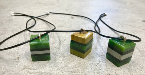 Licorice Allsort Pendants