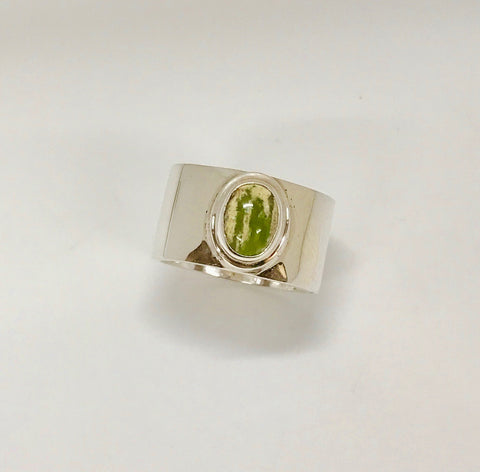 earth ring - yellow/light green