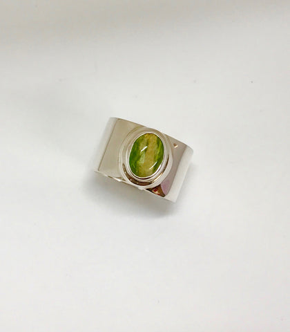 earth ring - yellow