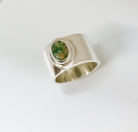 earth ring - orange yellow green