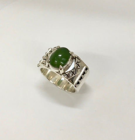 soar ring - mid green