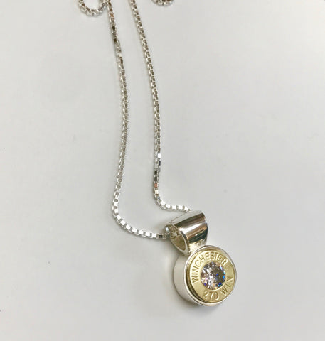 bush bling single bullet pendant - medium