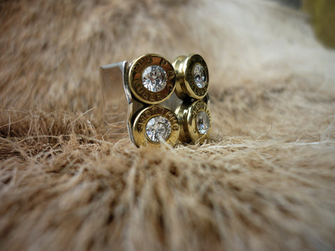 Identify Your Target Jewels, Women's Button Buck Ring.