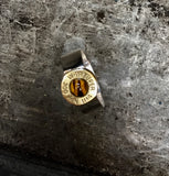 hunter drop set ring (tiger eye)