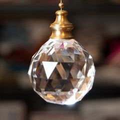 Acrylic Crystal Ball Ceiling Lighting Fan Pull