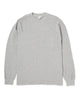 LS Pocket Tee - Heather Grey