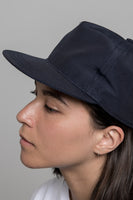 paa - 60/40 Pleat Cap - Navy Grosgrain