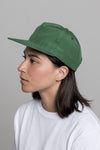 paa - 60/40 Pleat Cap - Emerald Grosgrain