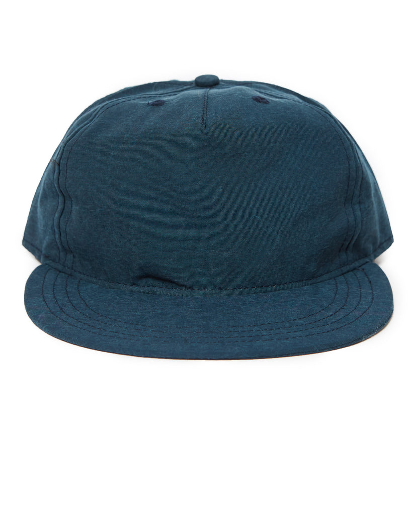 Pleat Cap - Navy Teal