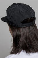 paa - 60/40 Pleat Cap - Black Grosgrain