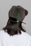 paa - Wide Wale Ball Cap - Brown / Olive Corduroy Pinwheel
