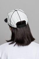 paa - Ball Cap - White / Black Nylon Tussah