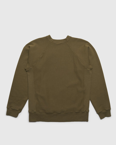 Crewneck Sweatshirt Two - Army Green