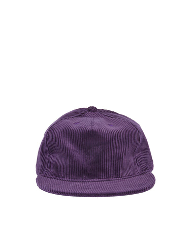 Wide Wale Pleat Cap - Concord