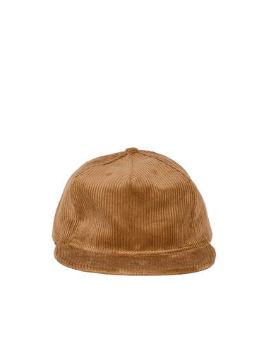 Wide Wale Pleat Cap - Granola