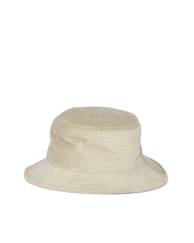 Wide Wale Bucket Hat - Stone