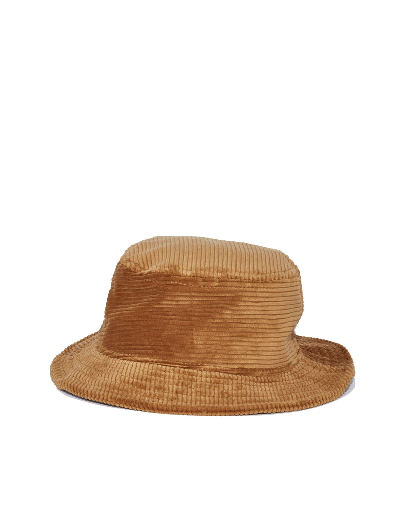 Wide Wale Bucket Hat - Granola