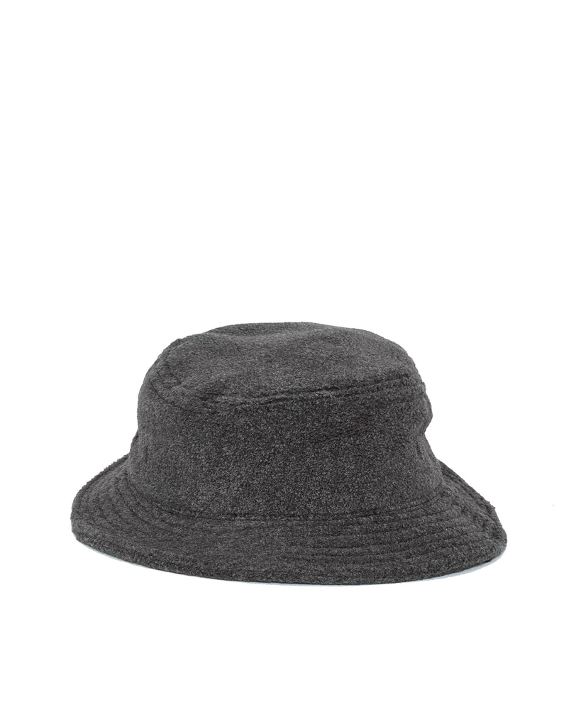 Polar Fleece Bucket Hat - Charcoal