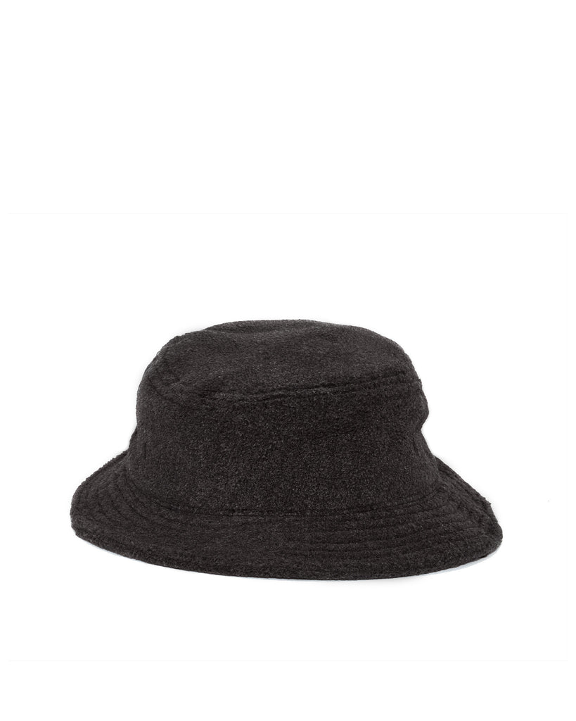 Polar Fleece Bucket Hat - Black