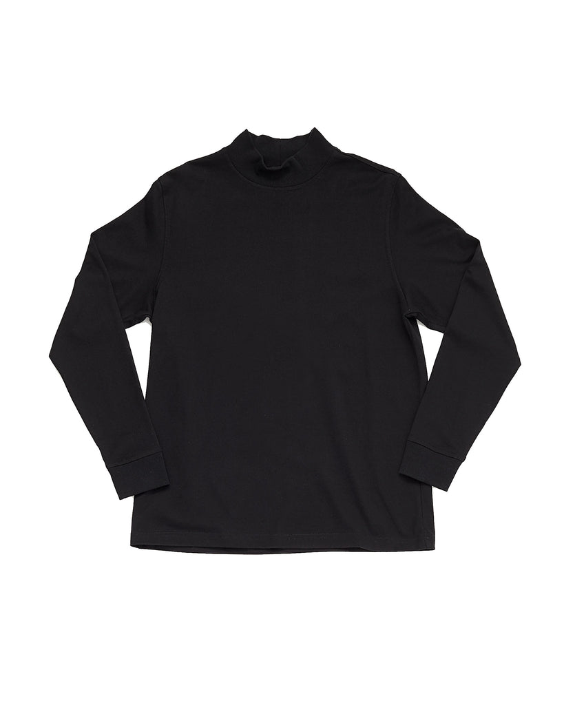 Mock Neck - Black