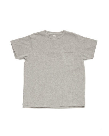 Pocket Tee - Heather Grey