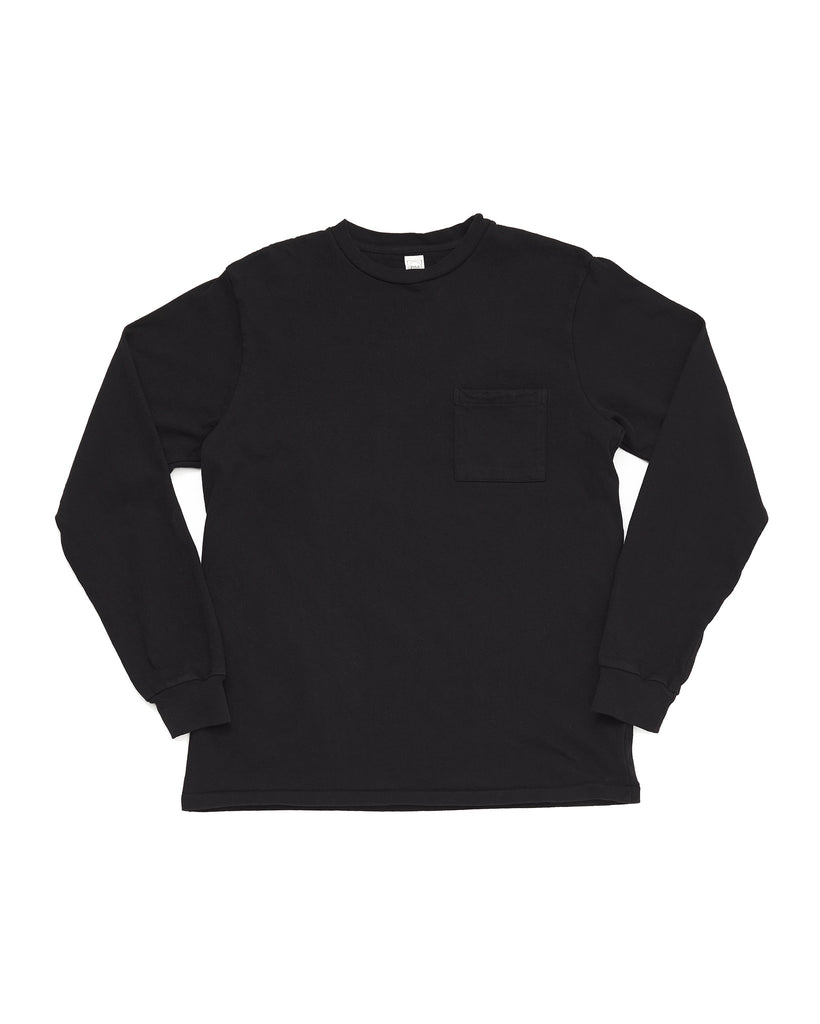 LS Pocket Tee - Black