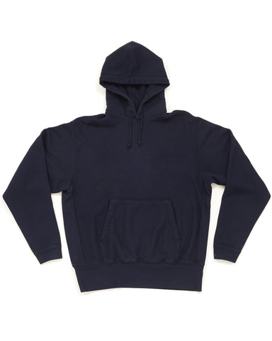 Hooded Pullover Sweatshirt - Navy