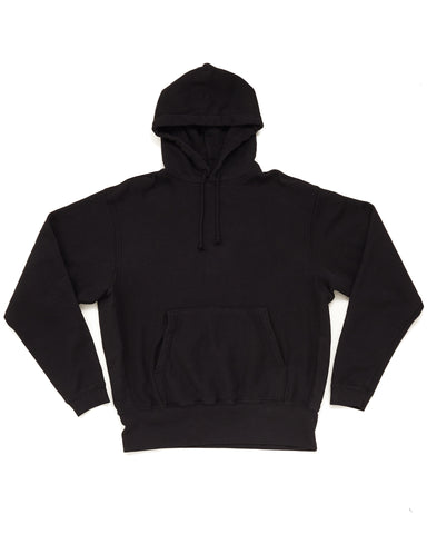 Hooded Pullover Sweatshirt - Black