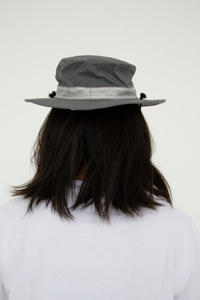 paa - Bucket Hat Three - Grey Waxed Cotton