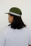paa - Five Panel Cap - Moss Waxed Cotton