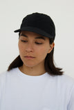 paa - Stretch Floppy Ball Cap - Black Seersucker