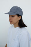 paa - Stretch Floppy Ball Cap - Navy Gingham Seersucker