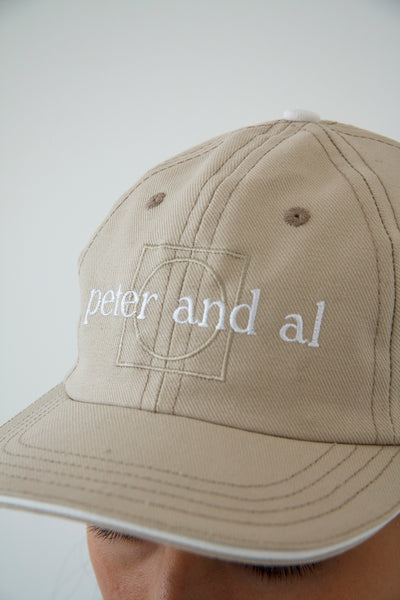 paa - Souvenir Cap - Light Khaki / White Serge