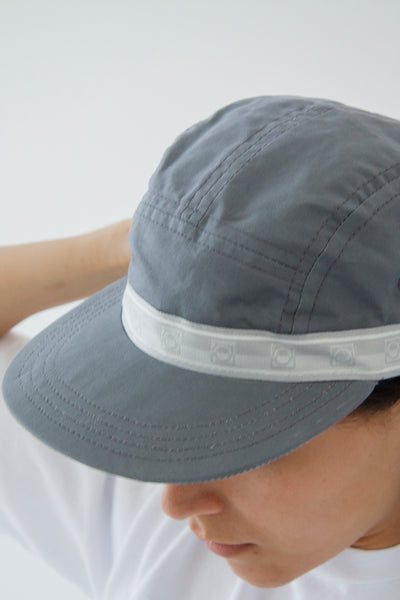 paa - Five Panel Cap - Grey Waxed Cotton