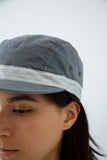 Five Panel Cap - Grey Waxed Cotton - paa