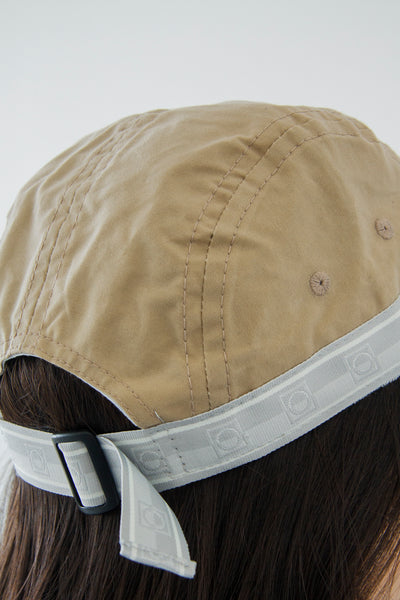 paa - Five Panel Cap - Khaki Waxed Cotton