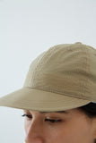 paa - Stretch Floppy Ball Cap - Khaki Seersucker
