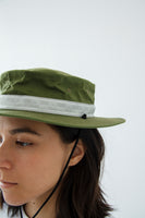 paa - Bucket Hat Three - Moss Waxed Cotton