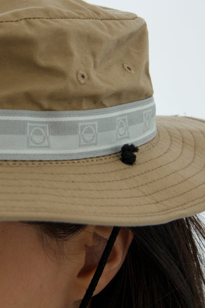 paa - Bucket Hat Three - Khaki Waxed Cotton