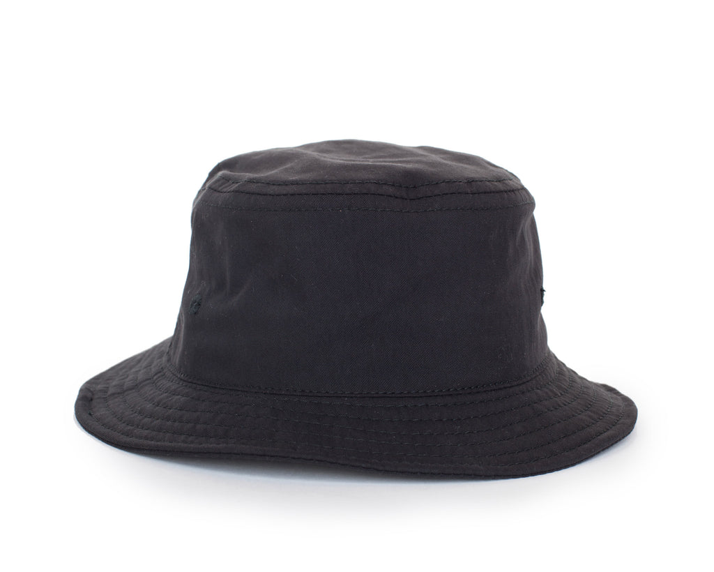 Peach Face Bucket Hat - Black