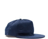 Jersey Mesh Pleat Cap - Navy