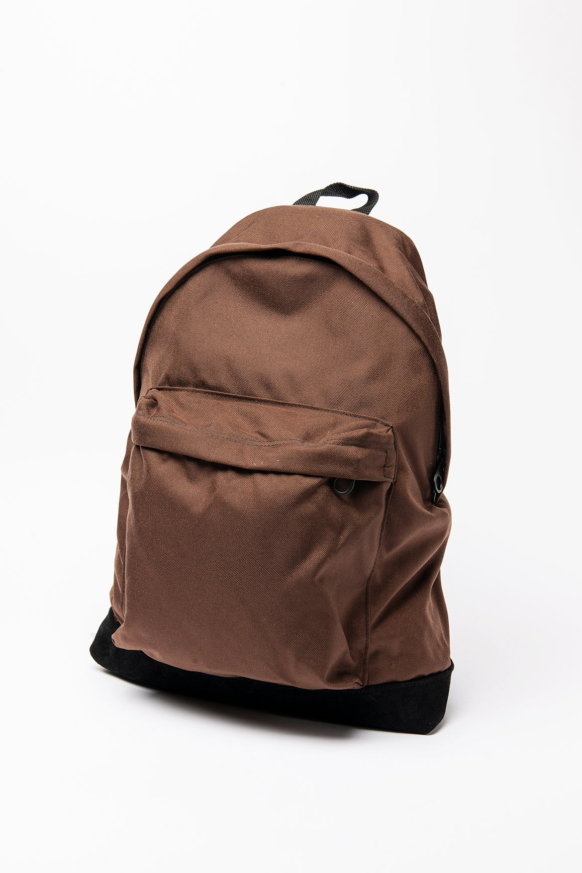 Backpack Two - Brown / Black Suede