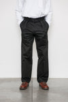 Double Pleat Pant - Black