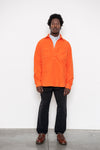 LS Popover Shirt Two - Orange