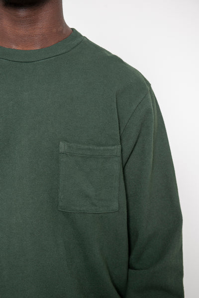 LS Pocket Tee - Deep Forest
