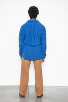LS Popover Shirt Two - Royal