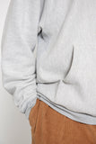 Hooded Pullover Sweatshirt - Heather Grey
