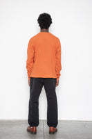 LS Pocket Tee - Autumnal Orange